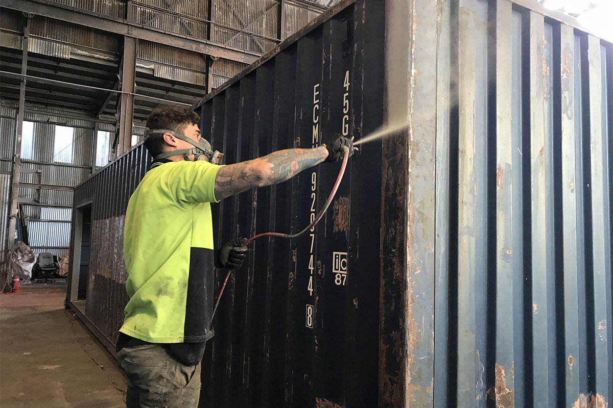 Buy 40ft Shipping Containers in Melbourne | ContainerSpace