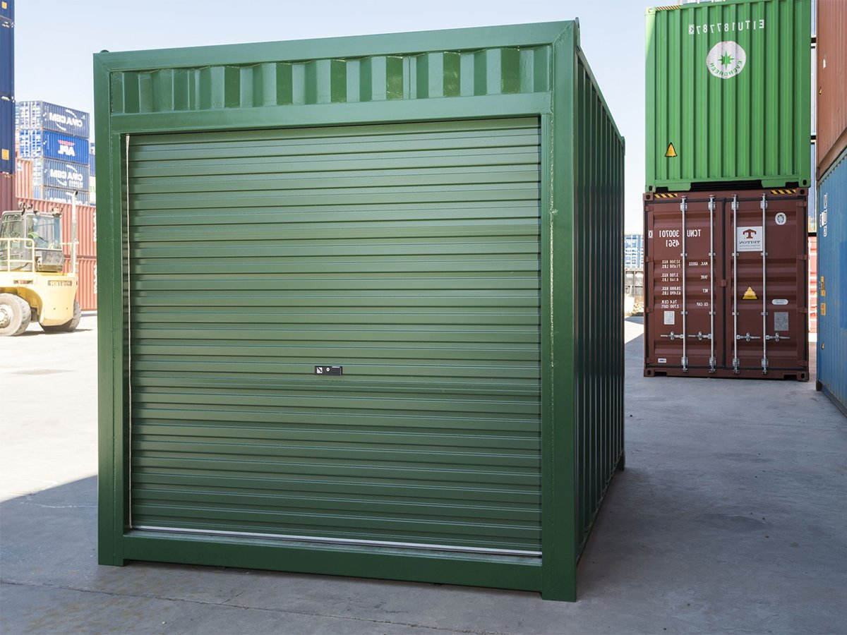 Buy 10ft Shipping Containers in Melbourne | ContainerSpace