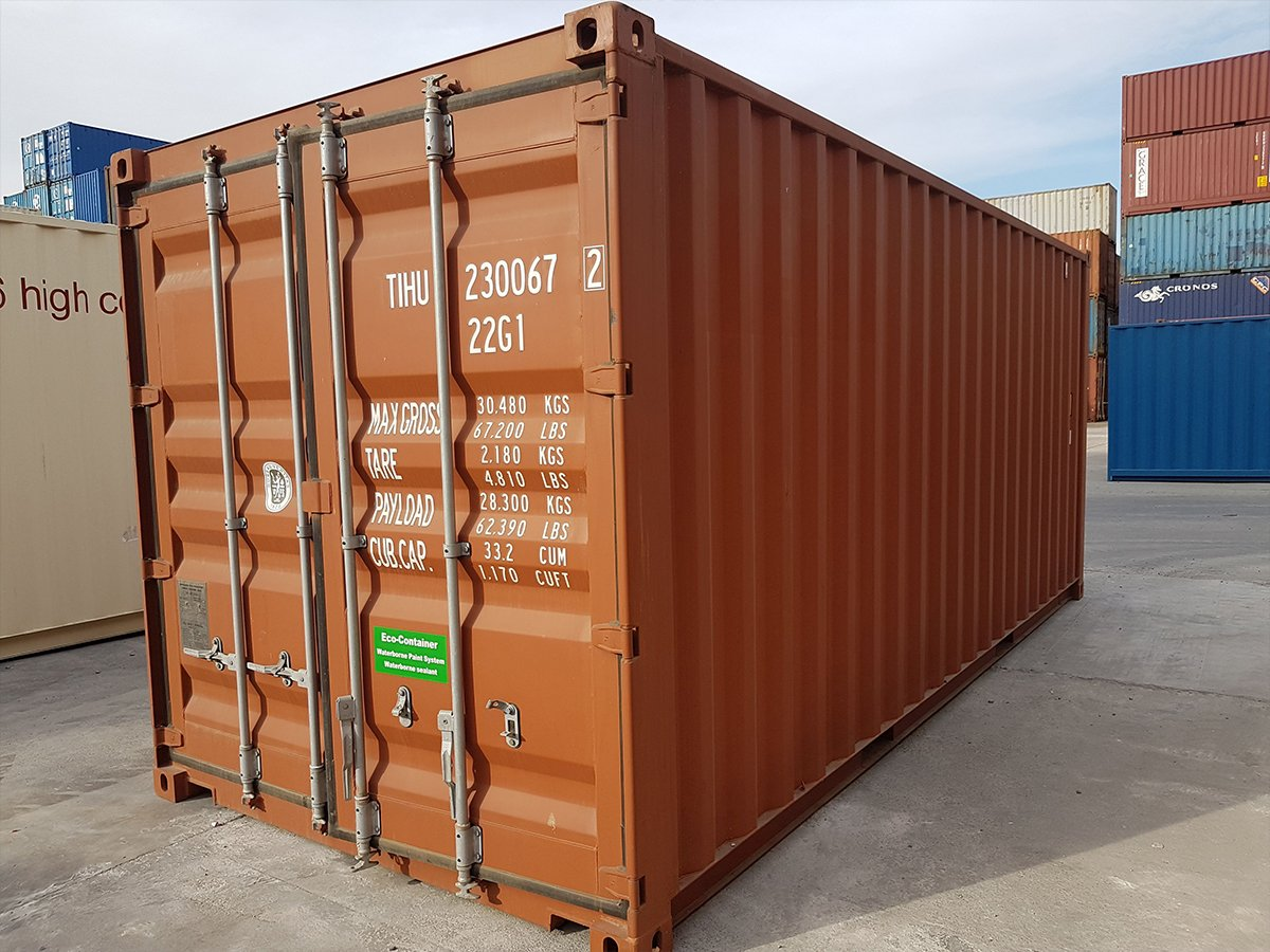 20ft Shipping Container >> Buy 20ft Shipping Containers In Melbourne Containerspace