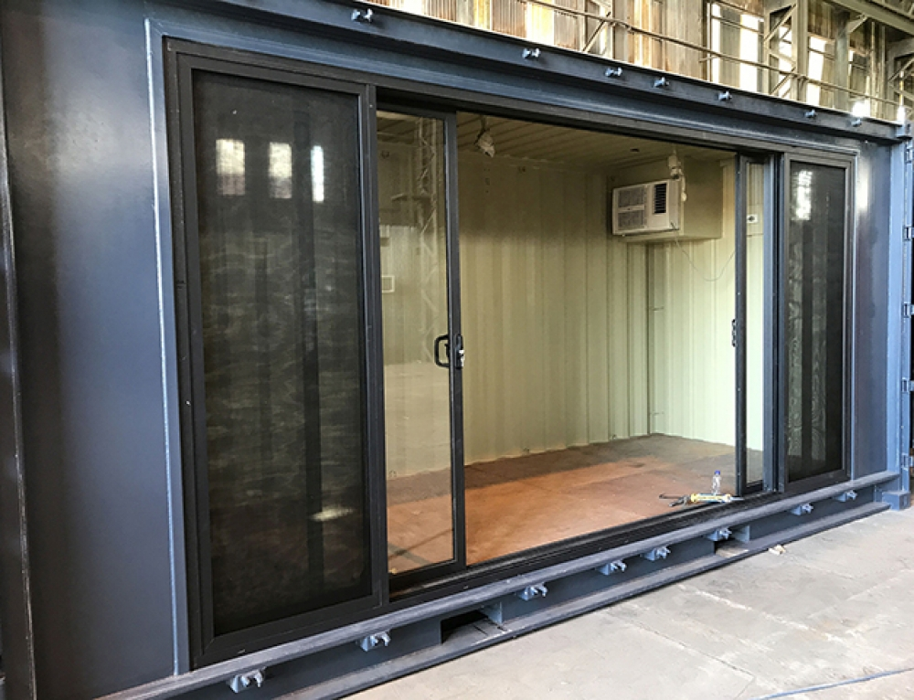 Smoking Shed Containerspace