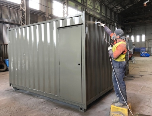 Painting a Container: How Easy is It?